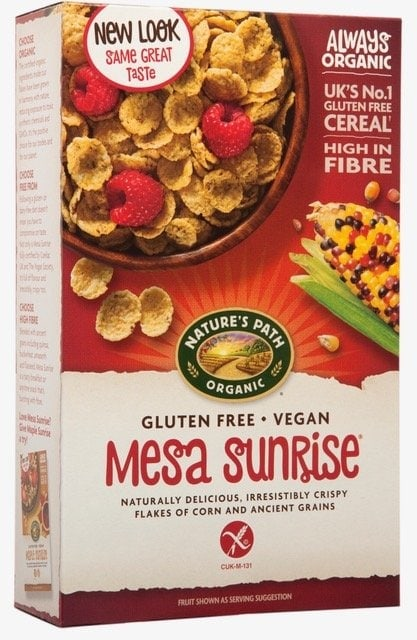 Fruit cereal bars made with Nature's Path Mesa Sunrise: homemade cereals bars perfect for breakfast or snacks #cerealbar #cerealbarrecipe #breakfastrecipe #quickbreakfast #glutenfree #dairyfree #eggfree #nutfree #freefromfairy #naturespath