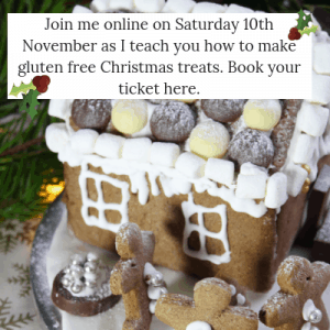 Join Vicki Montague, aka, the Free From Fairy as she shows you how to make gluten free treats