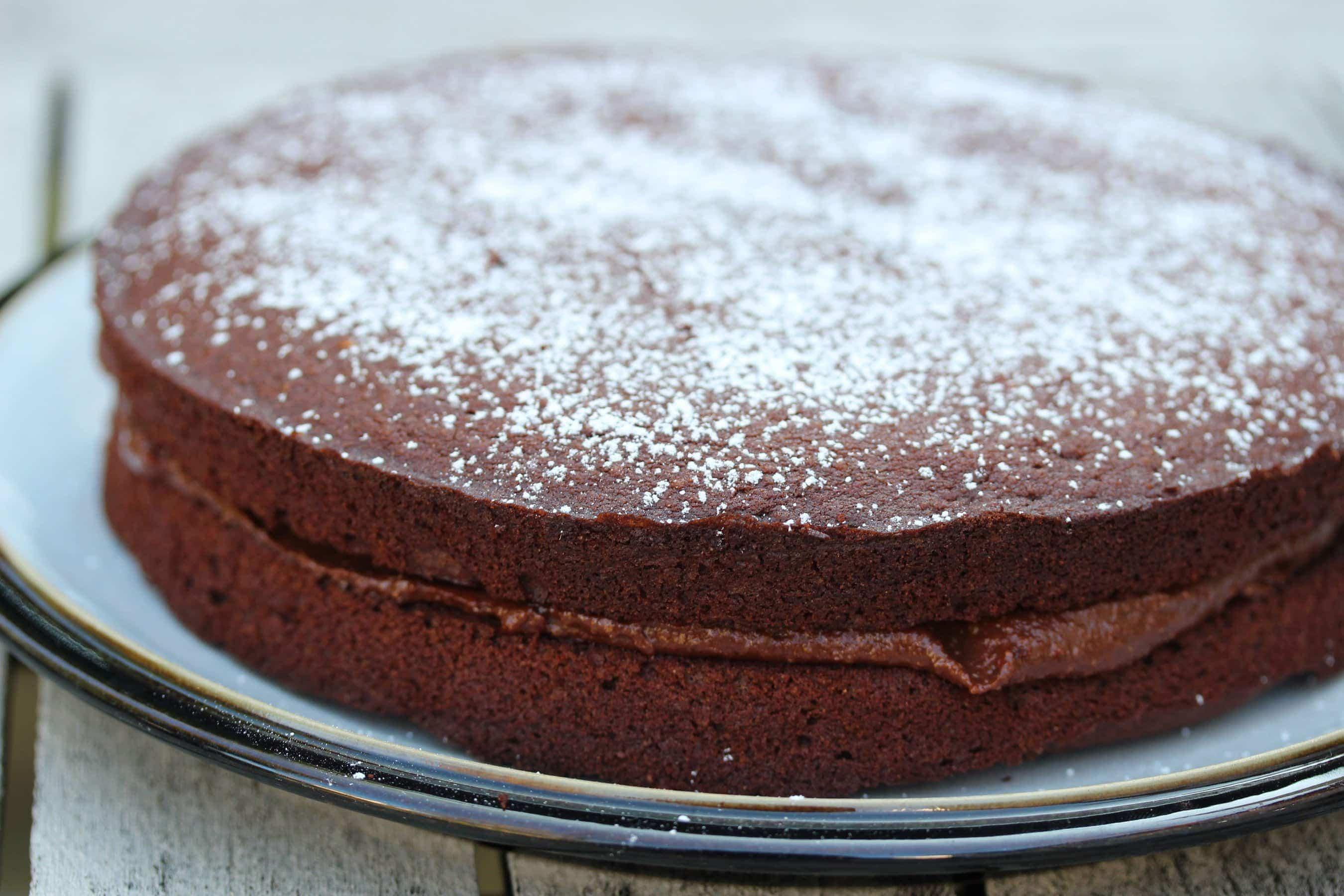 Gluten Free Vegan Chocolate Cake | The Free From Fairy