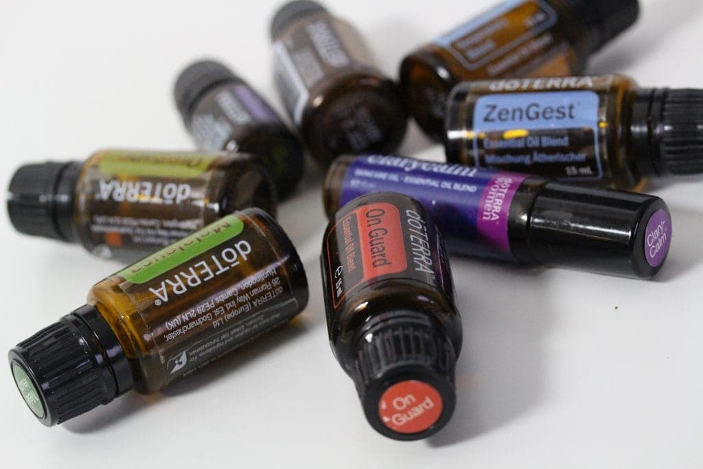 My favourite doTerra oils in November
