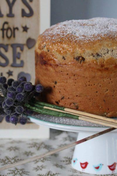 Gluten free panettone recipe. #glutenfree #panettone #dairyfree