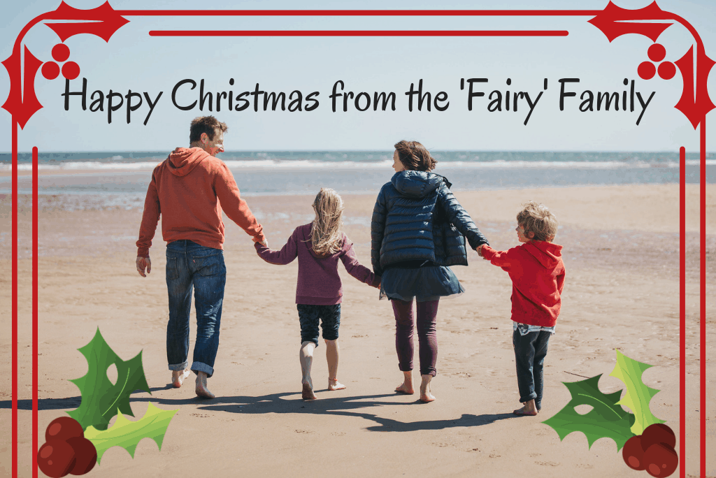 Happy Christmas from the Free From Fairy.