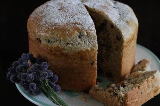 Gluten free panettone with dairy free options. Make your own panettone this Christmas. It tastes amazing and you know what ingredients are in it! #glutenfree #baking #christmas #panettonerecipe #freefromfairy