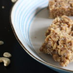 Vegan cereal bars made from Nature's Path O's. A recipe created by the Free From Fairy. #glutenfree #dairyfree #eggfree #vegan #snackbar #cerealbar #veganrecipe #glutenfreerecipe