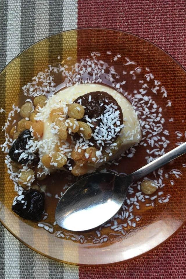 Gluten free Comptois Libanais pudding