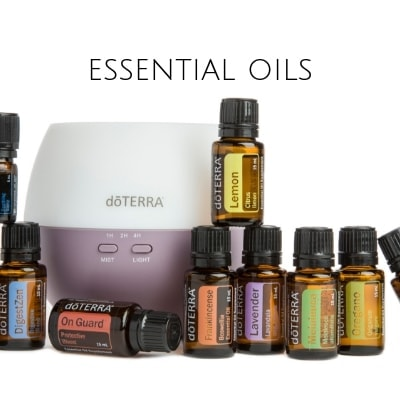 Essential oil shop