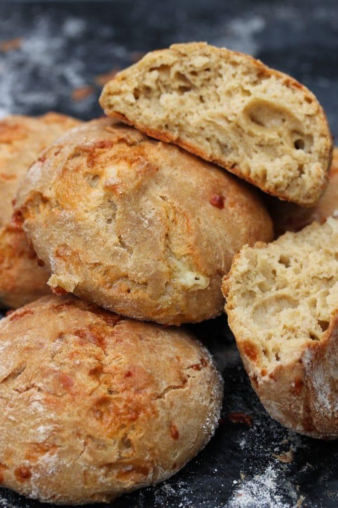 sourdough cheese rolls (gluten free)