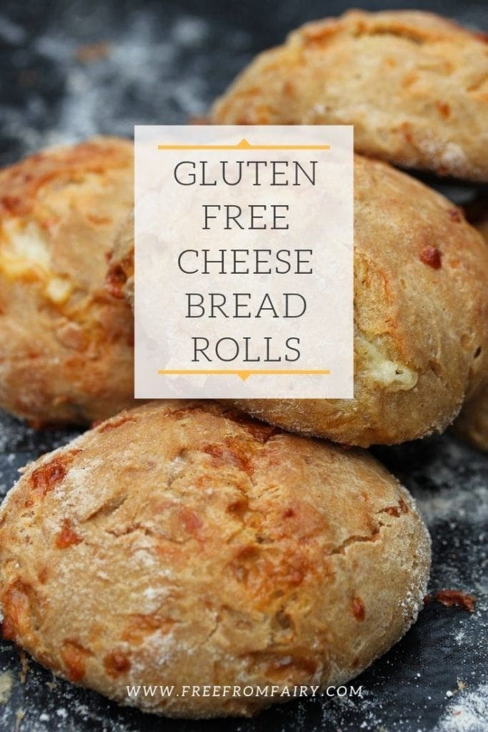 The best gluten free cheese bread rolls you'll ever eat. These are made with milk kefir instead of a sourdough starter for a delicious bread roll. #glutenfree #glutenfreebread #glutenfreecheesebread #glutenfreerolls #glutenfreesourdough
