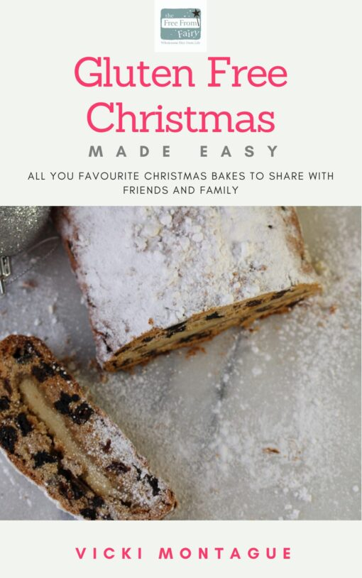 gluten free Christmas recipe book by the Free From Fairy