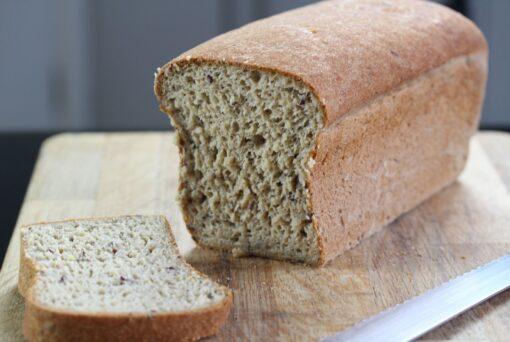 Gluten free bread made with the Free From Fairy gluten free bread mix