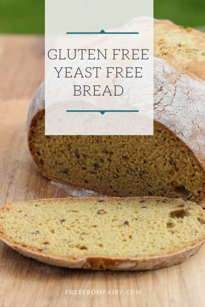 A simple recipe for yeast free and gluten free bread using the Free From Fairy gluten free bread mix. #freefromfairy #breadmix #glutenfreebreadmix #simpleglutenfreebread #yeastfreeglutenfreebread #easyglutenfreebreadrecipe