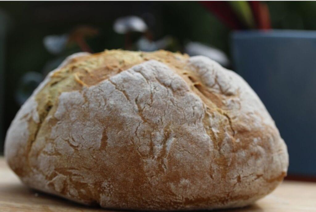 Simple gluten free bread #noyeastbread #glutenfreebread #freefromfairy