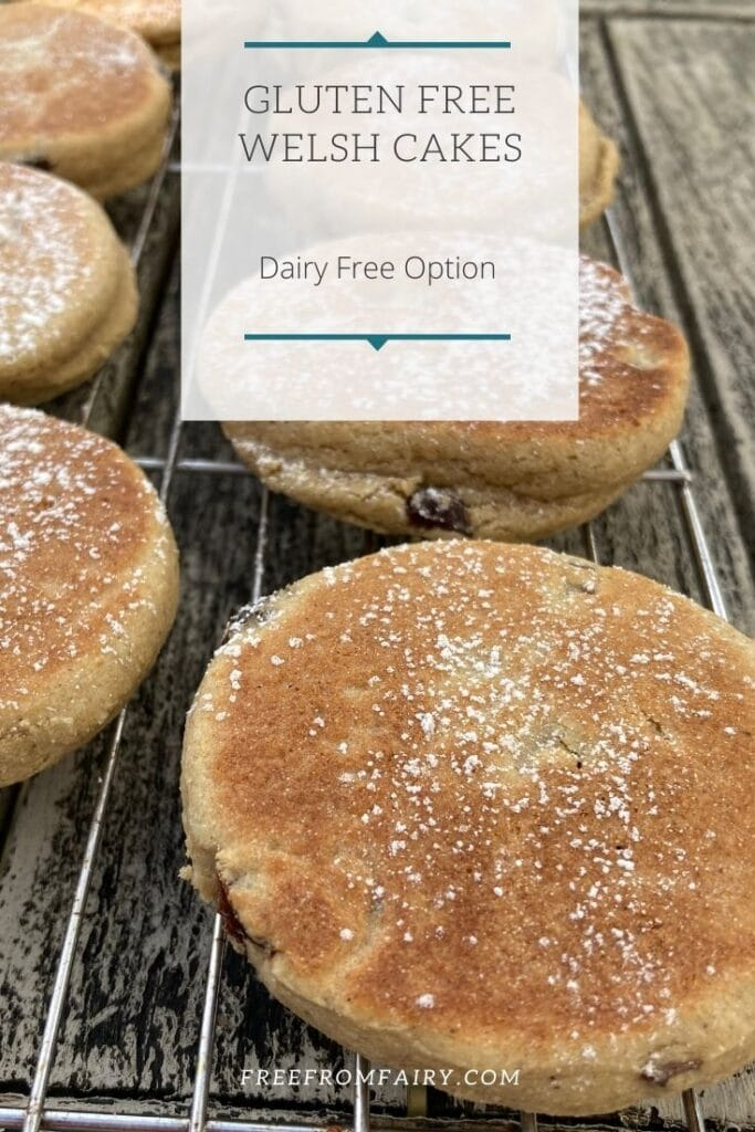 Gluten free Welsh cake recipe. The perfect treat for St. Davids Day or for Easter
